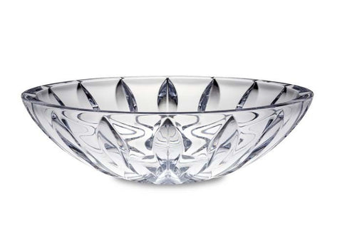 Equinox Crystal Centerpiece Bowl
