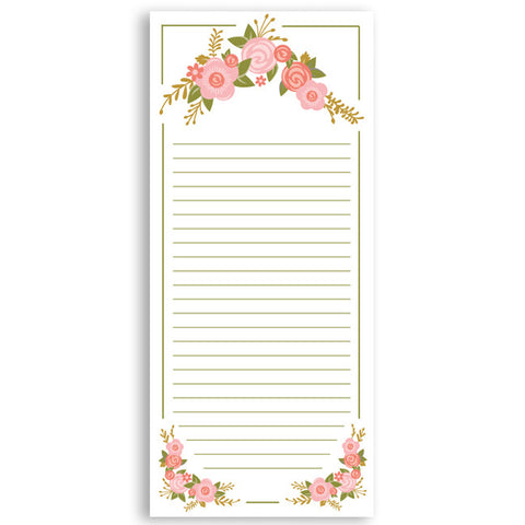 Customized Notepad Gift Set Floral, RSVP-Style - RSVP Style