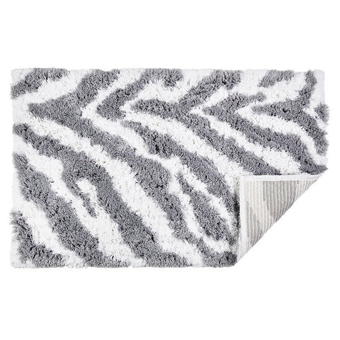 Fossey Bath Rug — Silver - RSVP Style