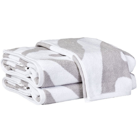 Fossey Bath Towel — Silver - RSVP Style