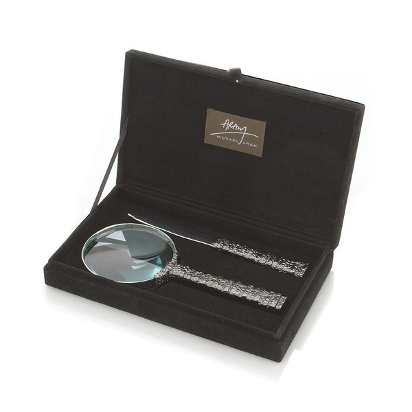 Gotham Magnifying Glass & Letter Opener Set