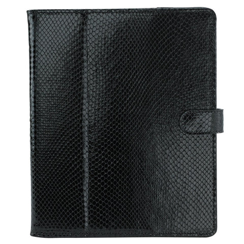Python Embossed Leather iPad Case