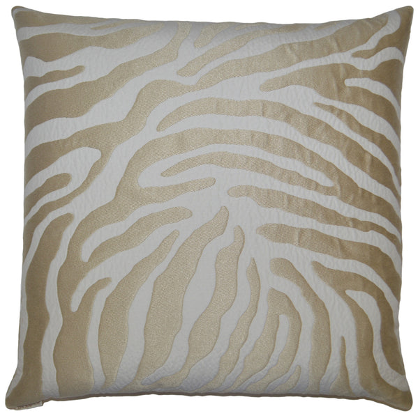 Instinct Throw Pillow  |  Gold