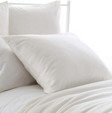 Silken Solid Pillow Sham • Ivory
