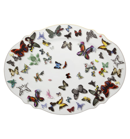 Butterfly Parade Large Platter, vendor-unknown - RSVP Style