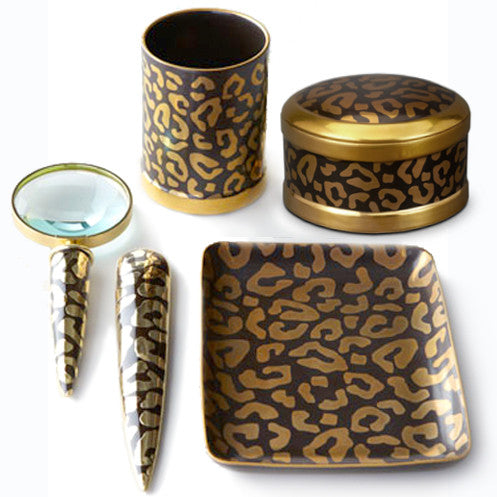 L'Objet  |  Leopard Home Decor Collection