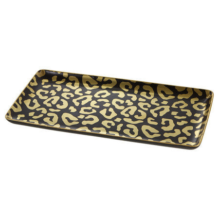Leopard Tray, vendor-unknown - RSVP Style