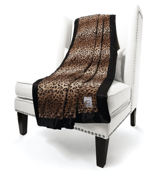 Little Giraffe Luxe Throw | Leopard