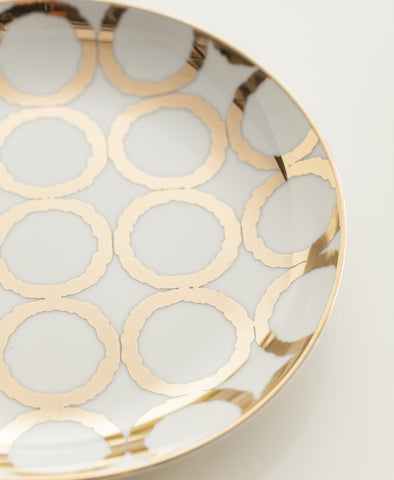 Luxe Moderne Appetizer Plates