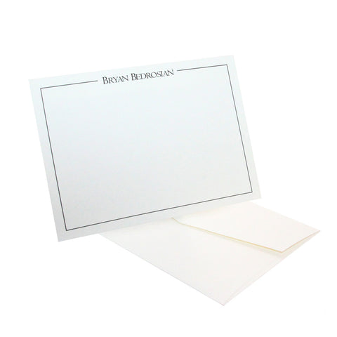 Men's Personalized Stationery
