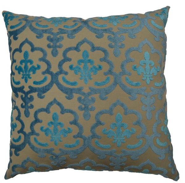 Marrisett Throw Pillow  |  Peacock