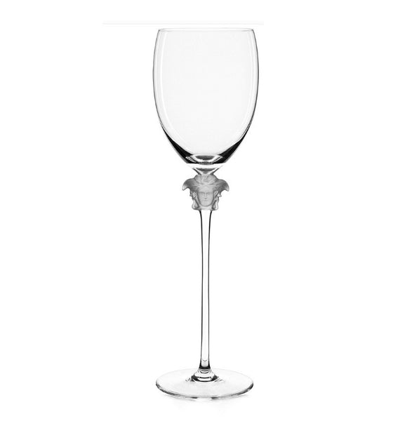 Versace  |  Medusa Lumiere Red Wine Glass