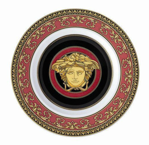 Medusa Red Bread & Butter Plate - RSVP Style