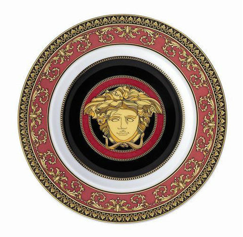 Medusa Red Bread & Butter Plate