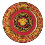 Medusa Red Service Plate