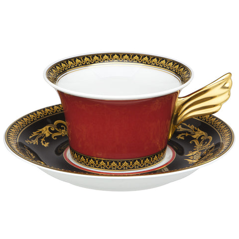 Medusa Red Tea Cup
