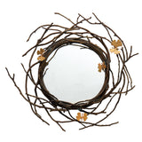 Butterfly Ginkgo Mirror, vendor-unknown - RSVP Style