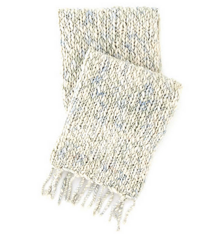 Chunky Knit Throw Blanket • Mist