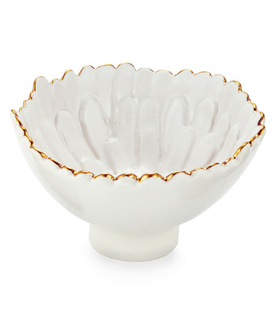 Mum Footed Small Bowl - RSVP Style