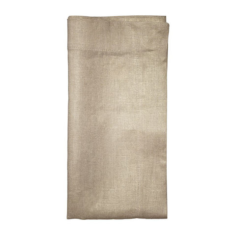 Metallic Linen Natural & Gold  Napkin
