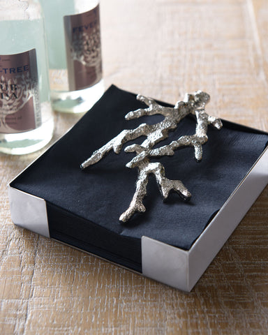 Ocean Collection Coral Cocktail Napkin Holder