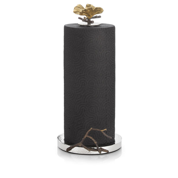 Butterfly Ginkgo Paper Towel Holder, Michael Aram - RSVP Style