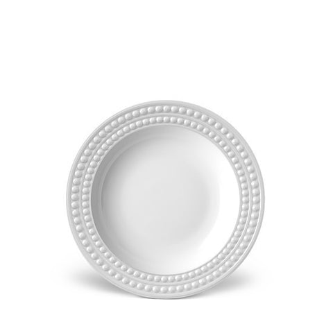 Perlee White Soup Plate - RSVP Style