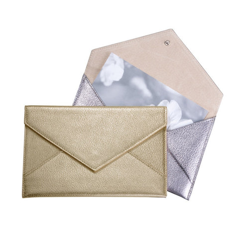 Leather Photo Envelope, vendor-unknown - RSVP Style