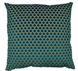 Posh Throw Pillow  |  Turquoise