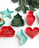 Merry Moments Heart Tray