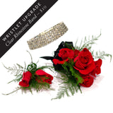 Rose Corsage & Double Rose Boutonniere