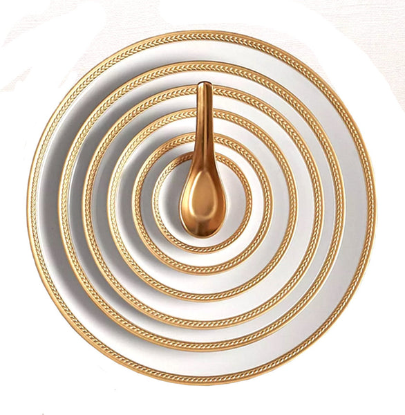 Soie Tressée Gold Set of 3