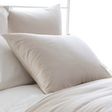 Silken Solid Pillow Sham • Sand
