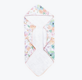 Bloom Muslin Hooded Towel - RSVP Style