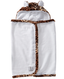 Little Giraffe Luxe Hooded Leopard Towel