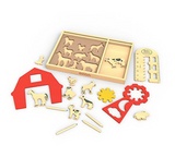Art On The Farm Stencil Kit, Begin Again - RSVP Style