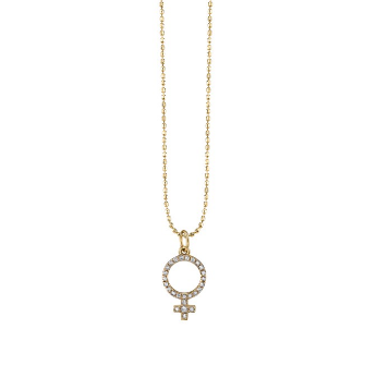 Gold & Diamond Venus Necklace