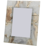 Natural Agate Photo Frame