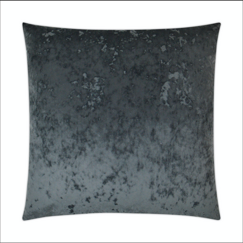 A La Mode Charcoal Throw Pillow - RSVP Style