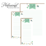Customized Notepad Gift Set Ribbon To Do List, RSVP-Style - RSVP Style