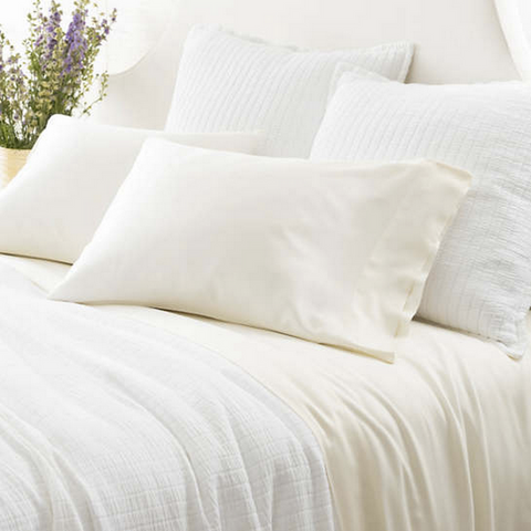 Silken Solid Sheet Set • Ivory