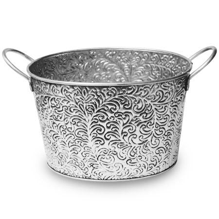 Silver Vine Ice Bucket