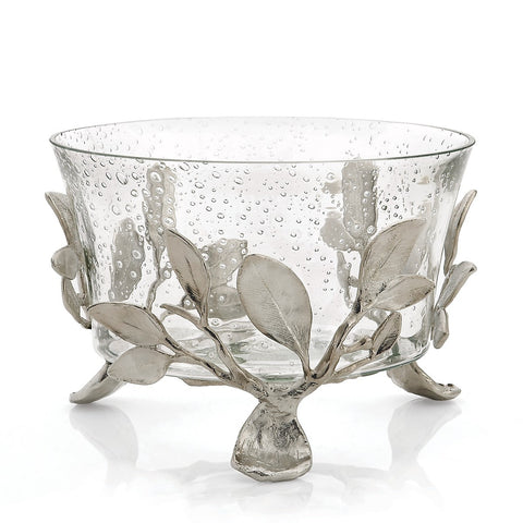 Sleepy Hollow Large Glass Serving Bowl - RSVP Style