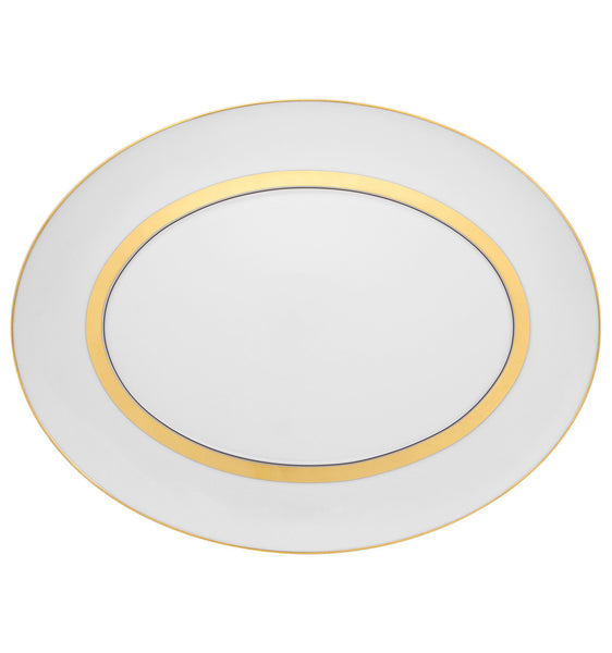 Domo Gold Small Oval Platter
