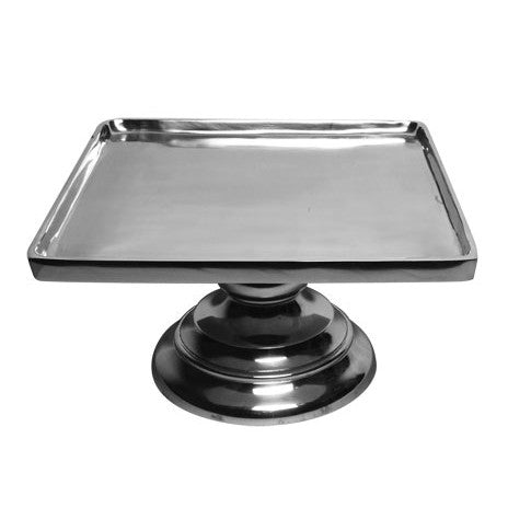 Smooth Base Square Cake Plate  |  Small
