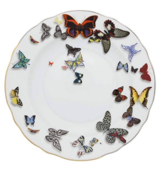 Butterfly Parade Soup Plate, vendor-unknown - RSVP Style