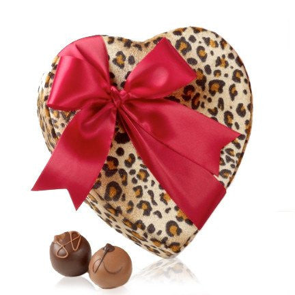 14 Piece Heart Shape Box of Truffles, RSVP Style - RSVP Style