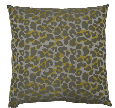 Tarzan Throw Pillow  |  Grey