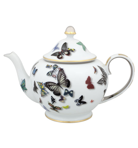Butterfly Parade Teapot, vendor-unknown - RSVP Style