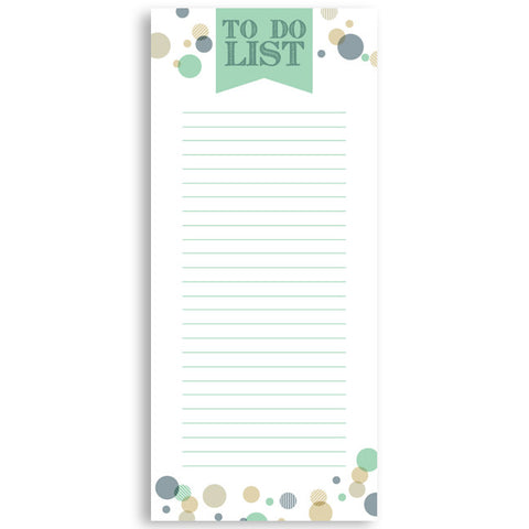 Customized Notepad Gift Set | Ribbon To Do List